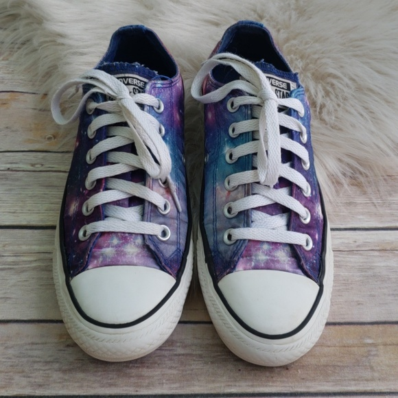 7baf1744d5fa Converse Shoes - Converse All Star Galaxy Print Sneakers - Size 7